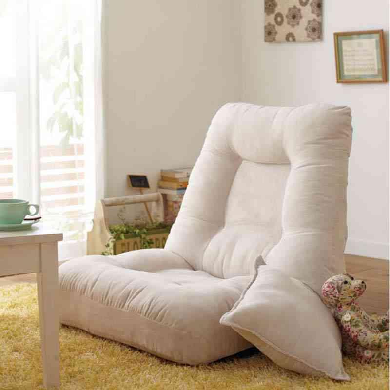 Velvet Folding Sofa Chair - Tatami Lazy Sofa Floor Chair
