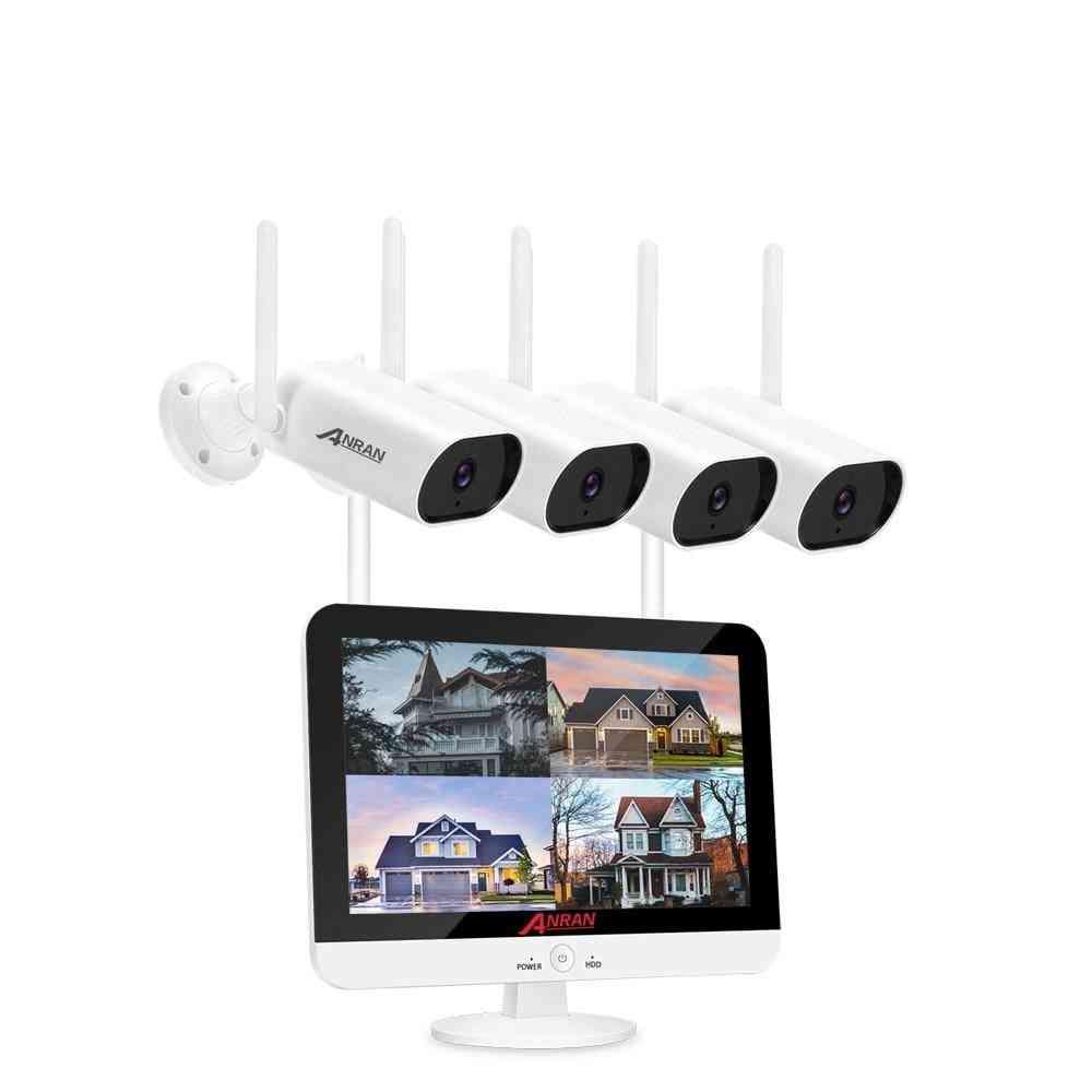 Anran Video Surveillance Kit 3mp Audio Record Cctv System