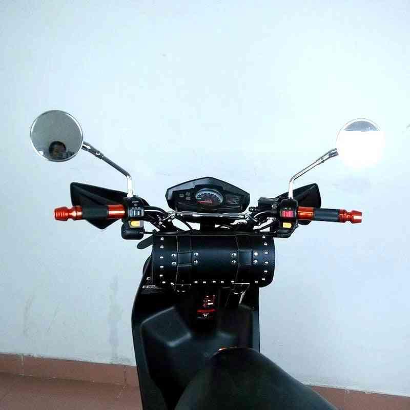 Retro Fashion Motorcycle Fork Tool Shape Motorbike Top Case Storage Bag