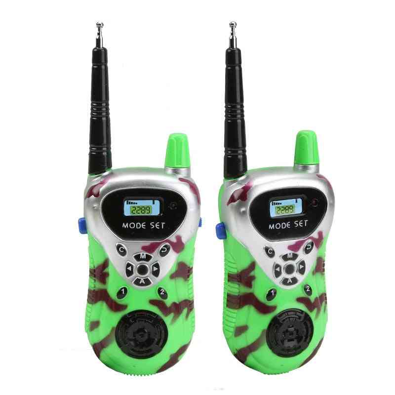 Kids Walkie Talkie, Handheld Electric Strong Clear Range, Two Way Radio Station Comunicator, Hf Transceiver, Child Interactive Toy