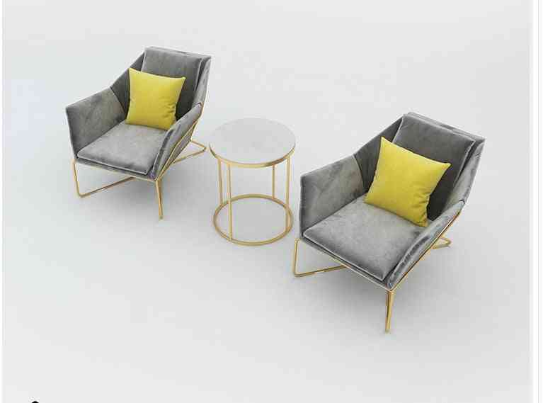 Luxury Beauty Salon Small Sofa Set