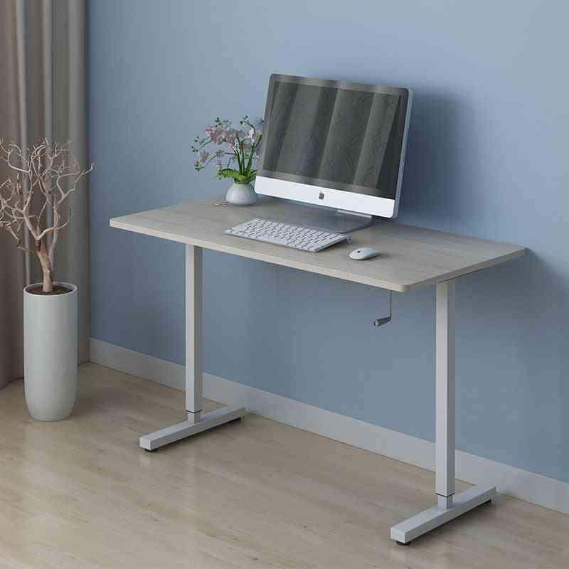 Adjustable Manual Lifting Ergonomics Simple Office Computer Table