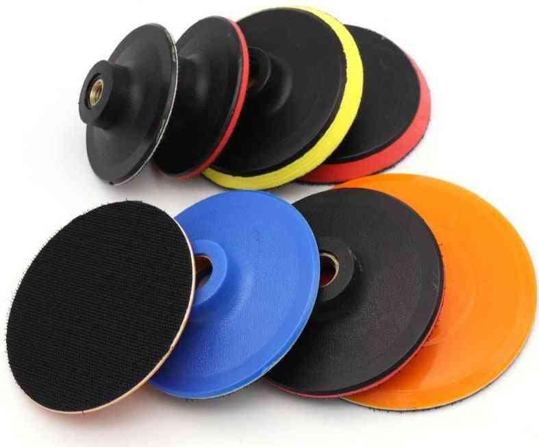 Thread Flocking Sandpaper Sucker Pad M10 M14 M16 Self-adhesion Sanding Disc