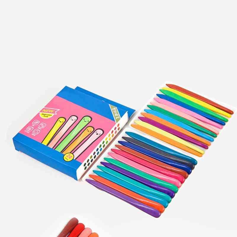 Triangular Crayons Safe