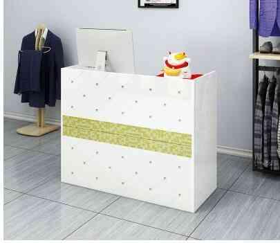 Simple Modern Business Reception Desk
