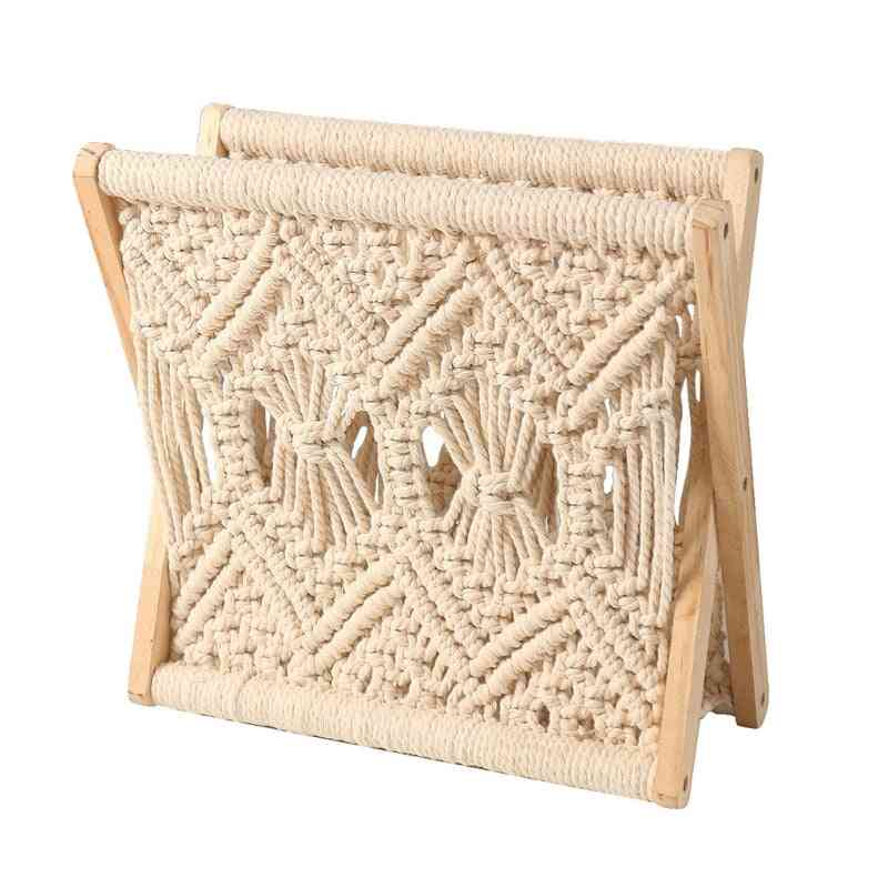Nordic Cotton Woven Storage Basket