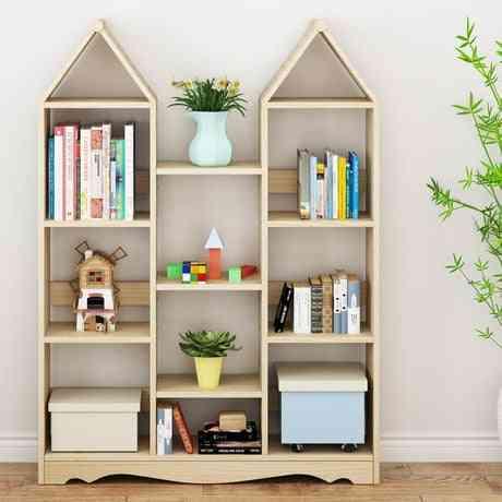 Children Cabinet Furniture Solid Wood Kids Cabinet Storage Rack