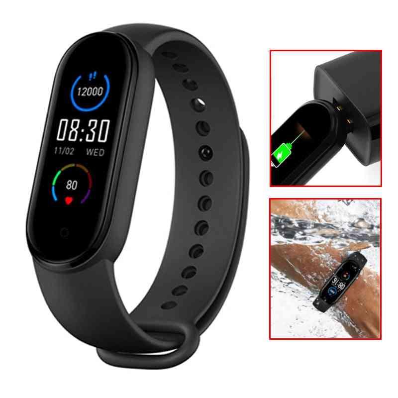 Smart Band Bracelet, Blood Oxygen, Heart Rate, Fitness Tracker, Waterproof, Bluetooth, Sport Smart Wristband