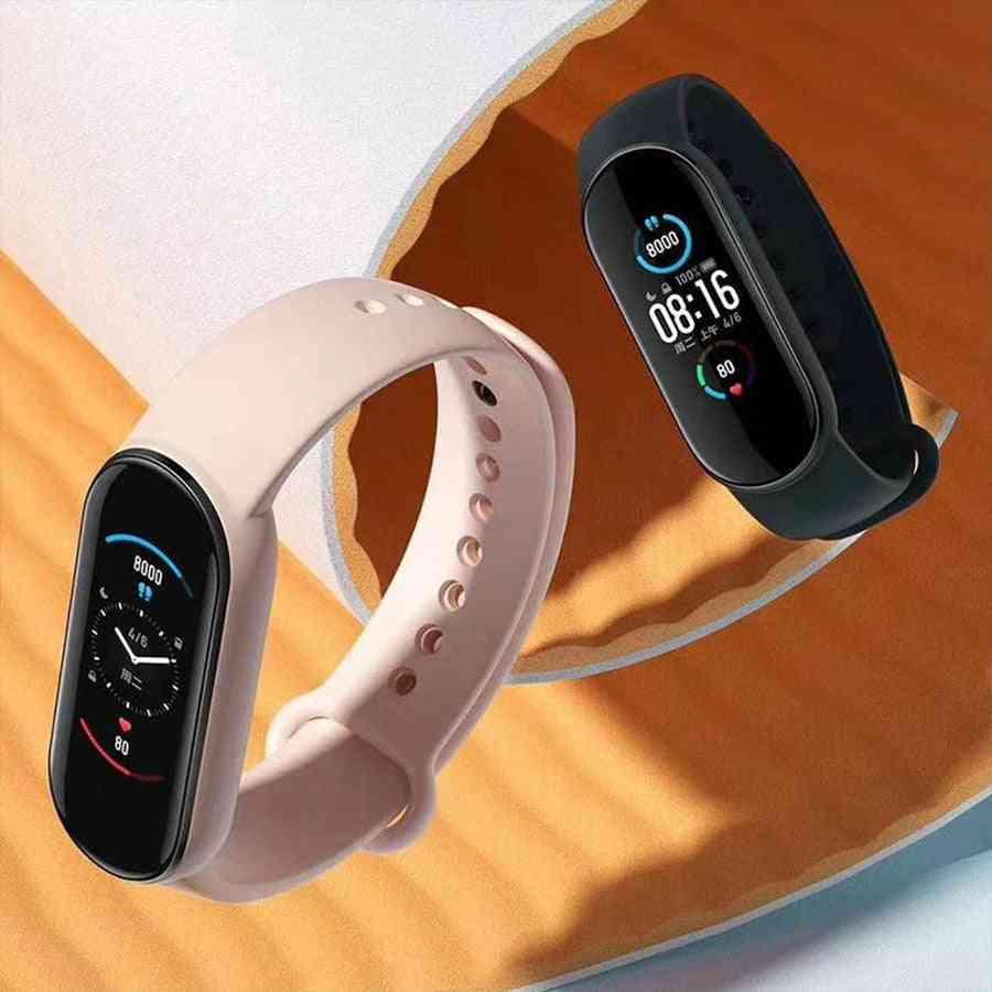 Smart Bracelet, Amoled Screen, Fitness Traker, Wristband, Sport Waterproof Band
