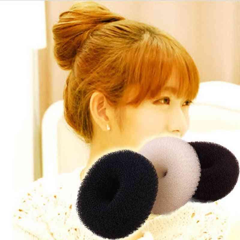 Elegant Women Ladies Magic Shaper Donut Hairbands