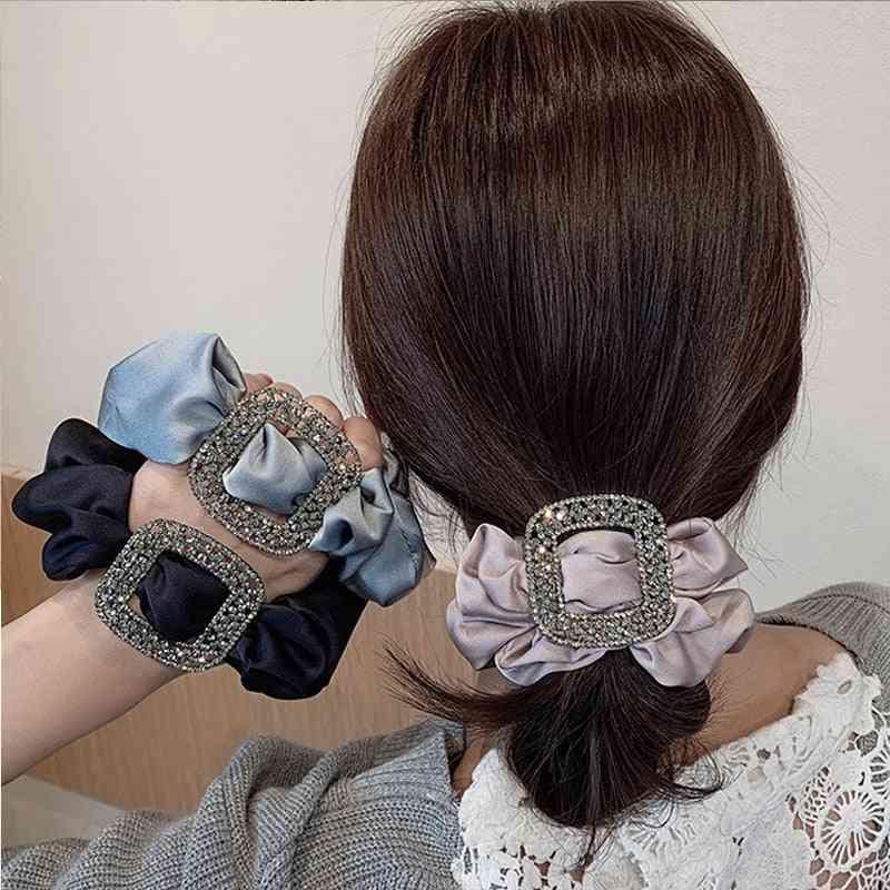 Silk Large Intestine Hair Ring