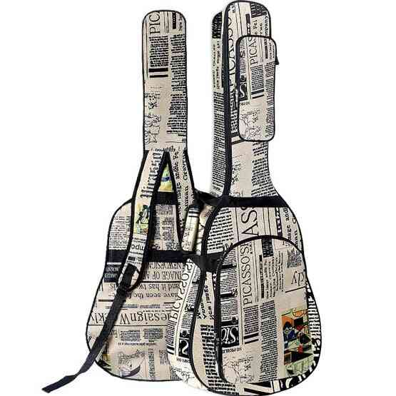 Oxford Cloth Double Stitched Padded Strap Guitar Case