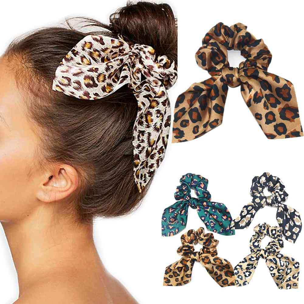 Women's Trends Leopard Serpent Rabbit Ears Hair Band
