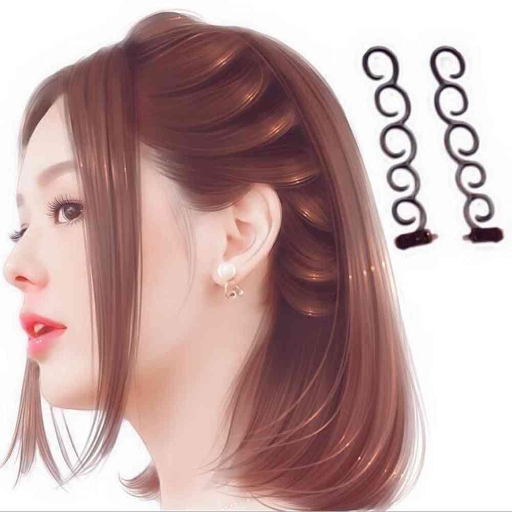 Women Fashion Flower Magic Hair Clip