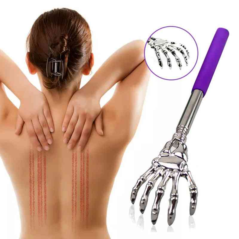 Stick Scraping, Back Telescopic Scratching, Health Care Massage Tool.
