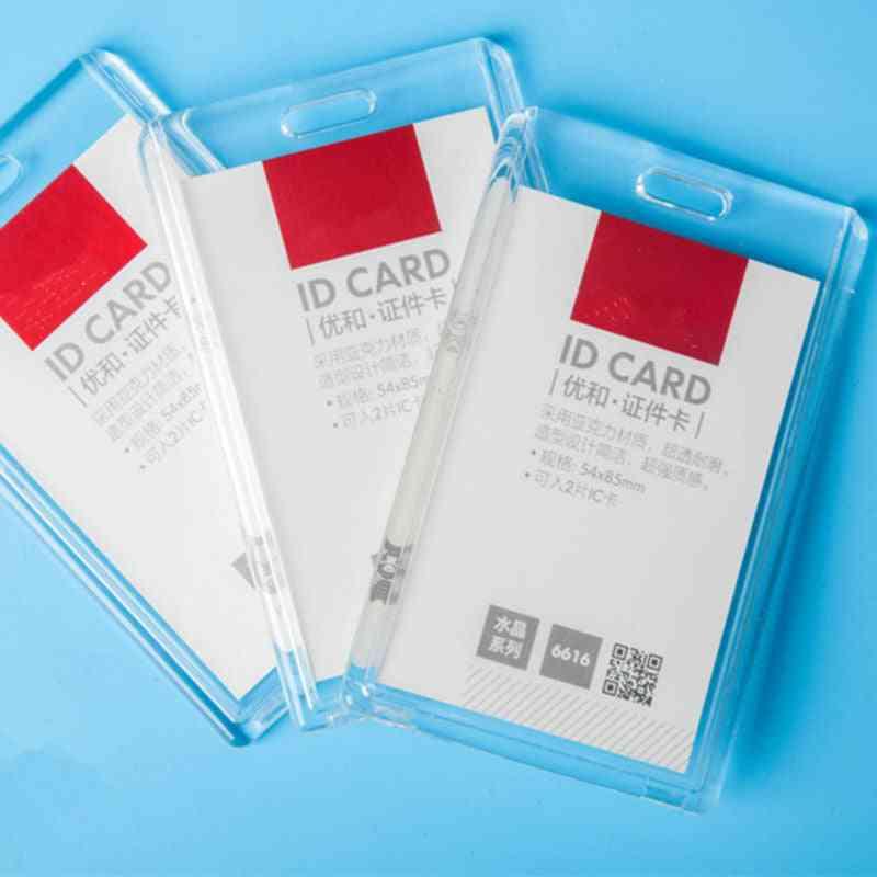Acrylic Transparent Bank Credit Card Holders