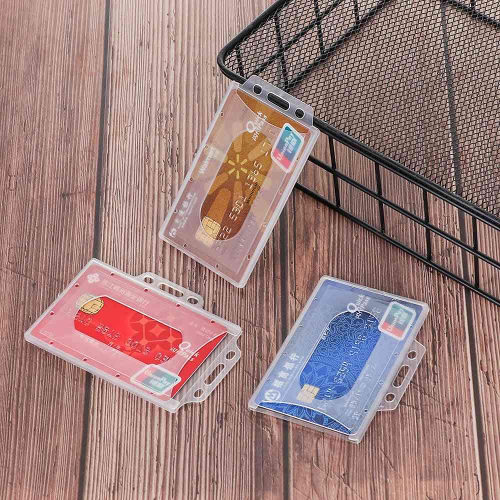 Plastic Badge Work Card Holder