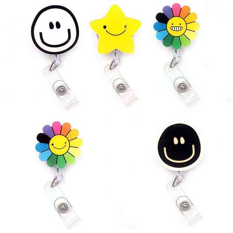 Id Card Clips Badge Holder