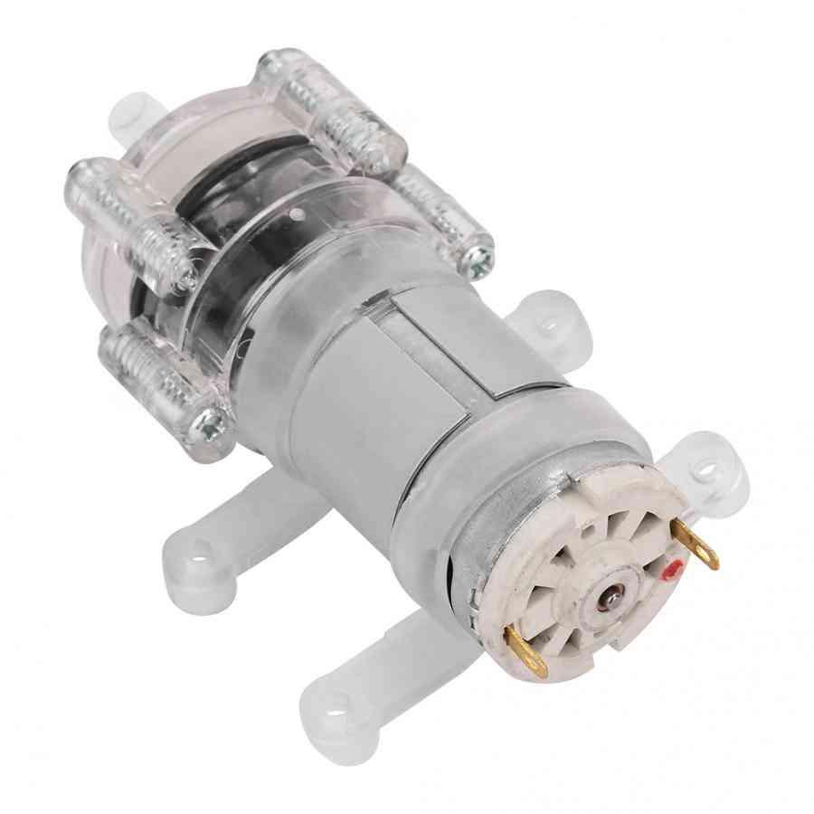 385hpc-9 Dc12v High Temperature Resistance Transparent Aquarium Mini Diaphragm Water Pump Garden Access