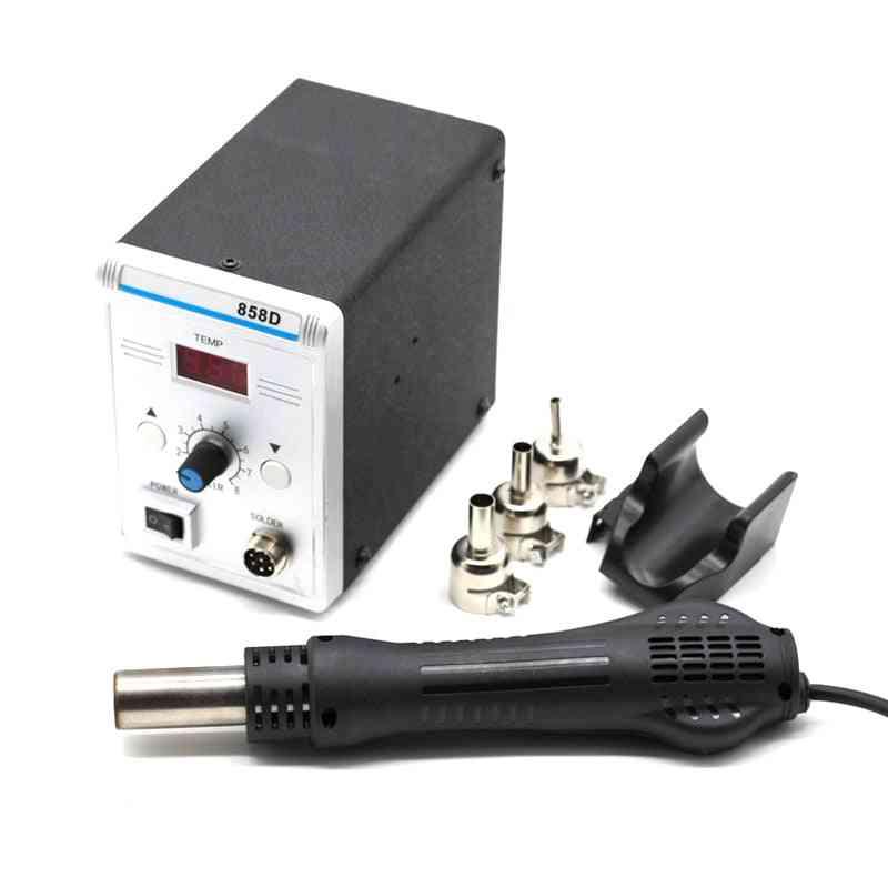 Rework Soldering Station Led Digital Hair Dryer For Soldering