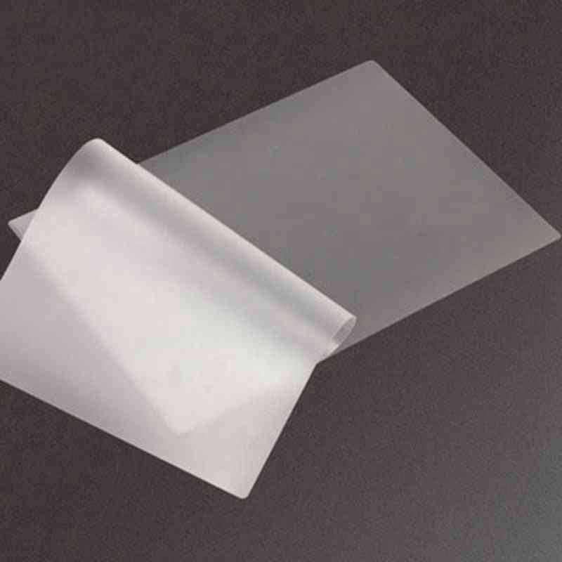 50 Mic, A4 Thermal Laminating Film Pet For Photo/files/card/picture