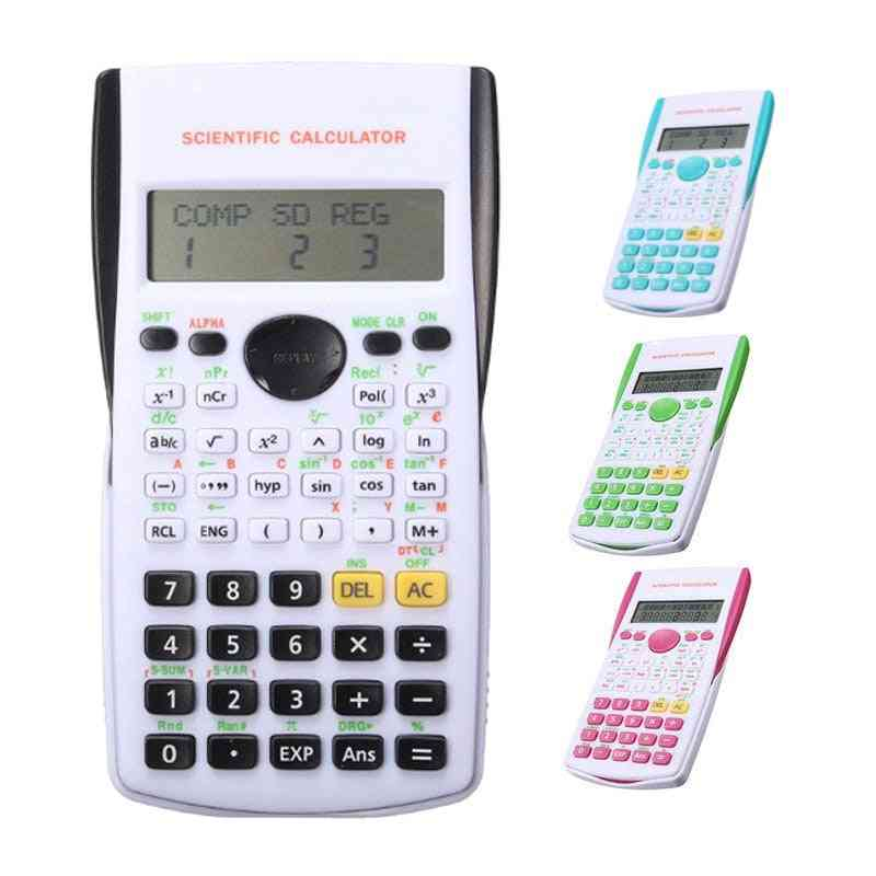 Scientific Candy Color Office School Student Mini Function Calculator