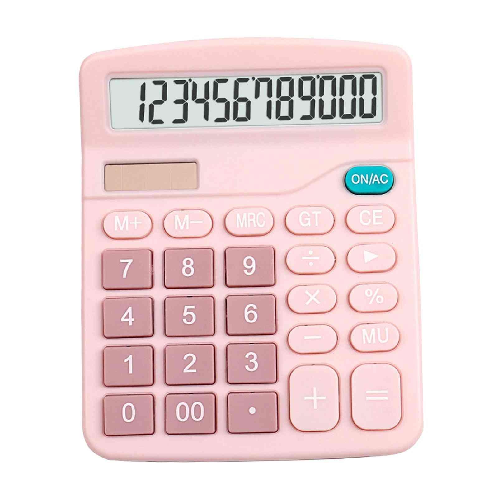 12 Digits Electronic Large Screen Desktop Calculator