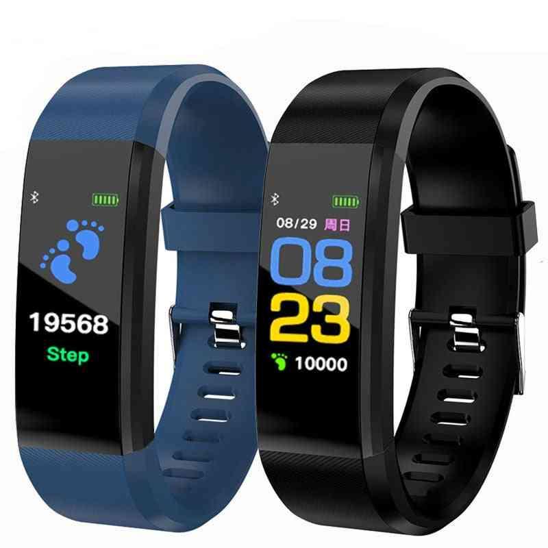 Smart Bracelet Watch For Men, Women, Plus Wristband, Fitness Tracker, Pressure Sport Heart Rate Monitor Band
