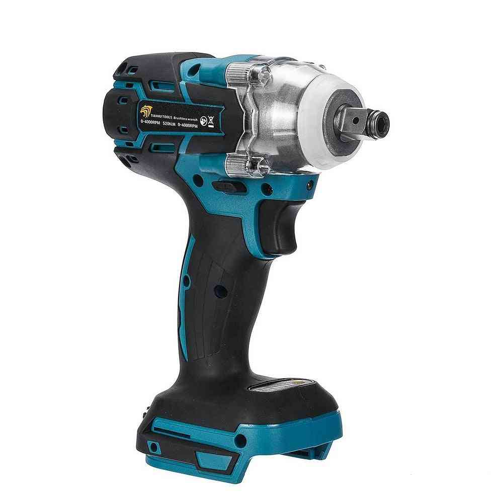 18v 520nm Electric Rechargeable Brushless Impact Wrench