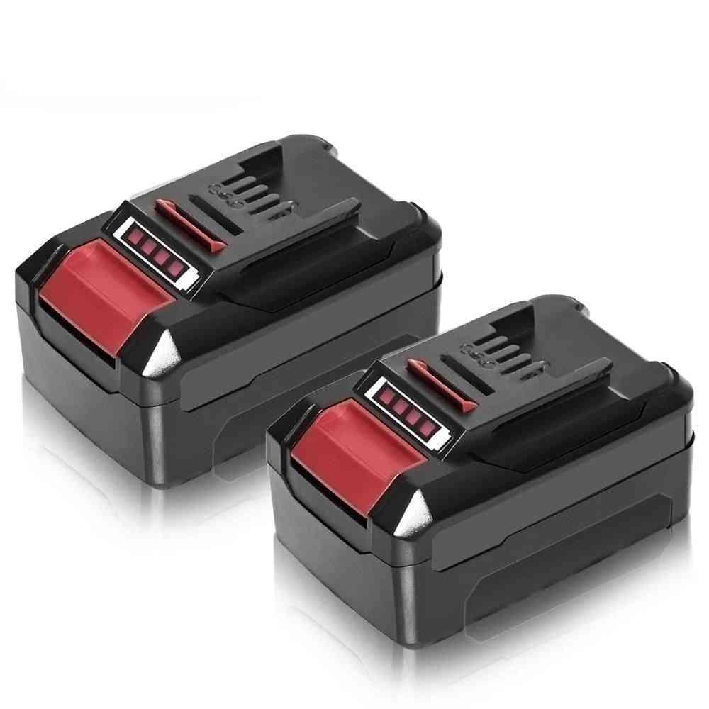 Abeden 2pcs Replacement 18v 3.0ah 4.0 Ah 5.0 Ah 6.0 Ah Li-ion Power Tool Battery