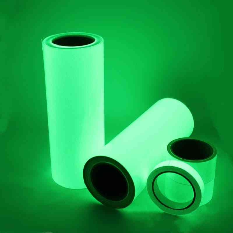 3m Portable Eco-friendly Warning Security Tapes Pet Glow In The Dark Green Luminous Tape Self-adhesive Multifunction