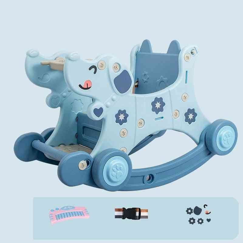 Infant Shining Baby Rocking Chair, Horse, Animal, Trojans Birthday