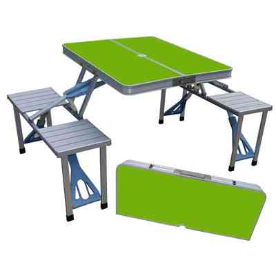 Outdoor Folding Table Chair Camping Aluminium Alloy Picnic-table