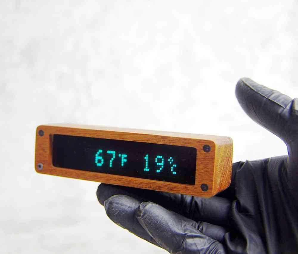 Clock Vacuum Fluorescent Display, Digital Watch
