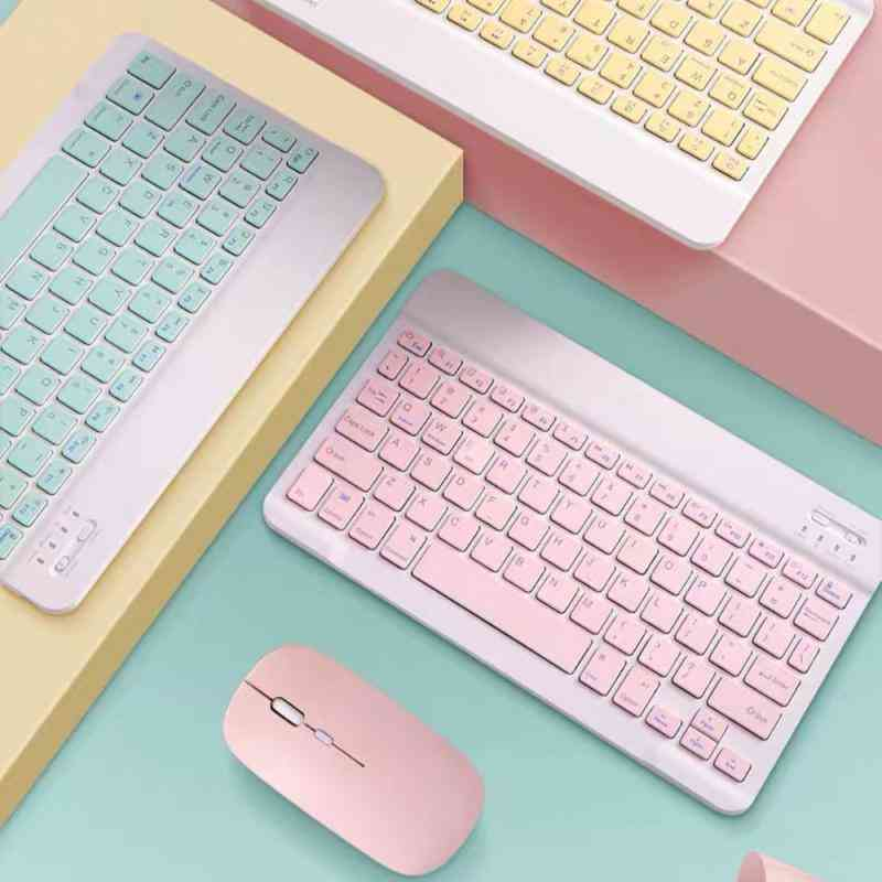 Portable Wireless Bluetooth Keyboard For Ipad, Samsung, Xiaomi, Android Tablet