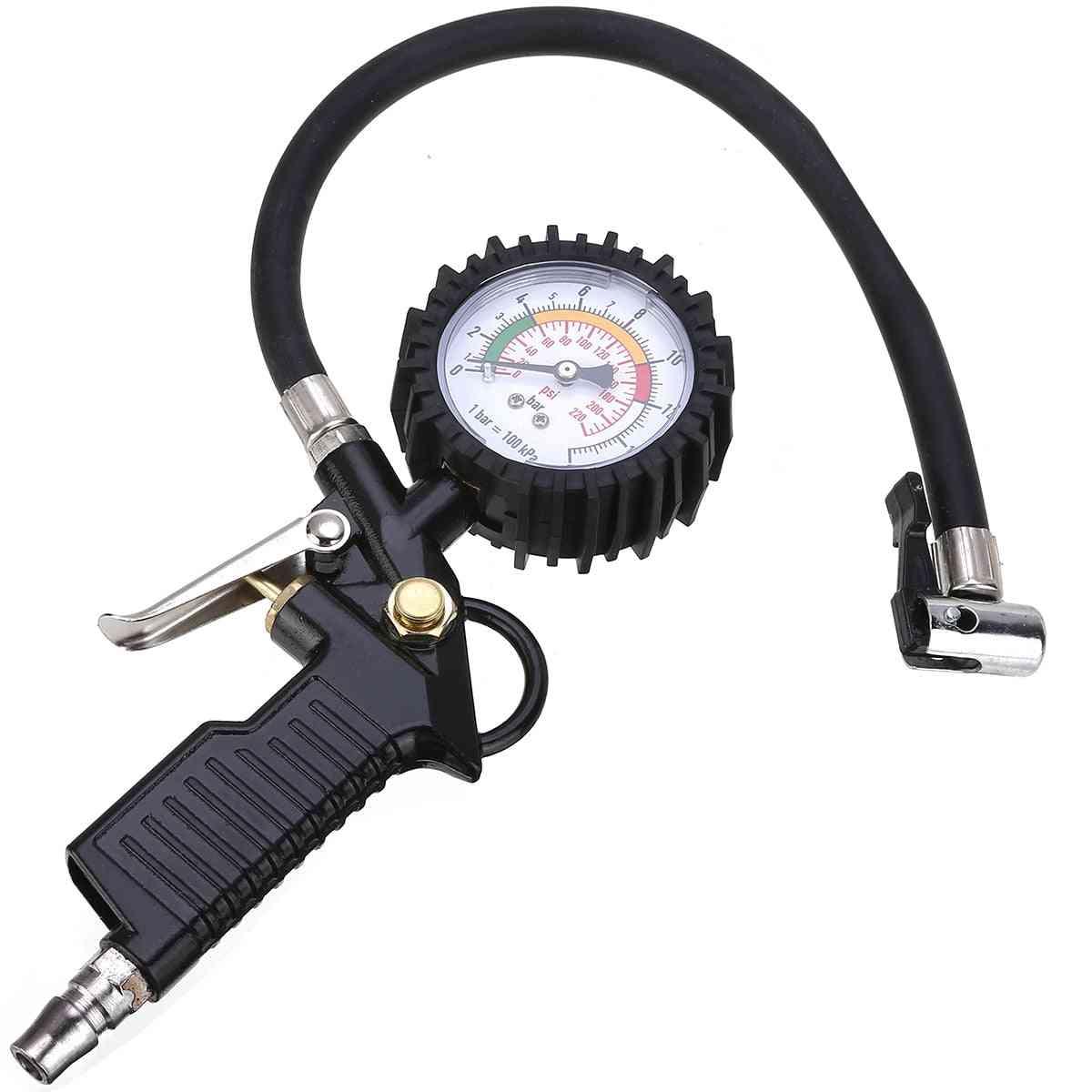 Air Pressure Gauge Tire Inflator