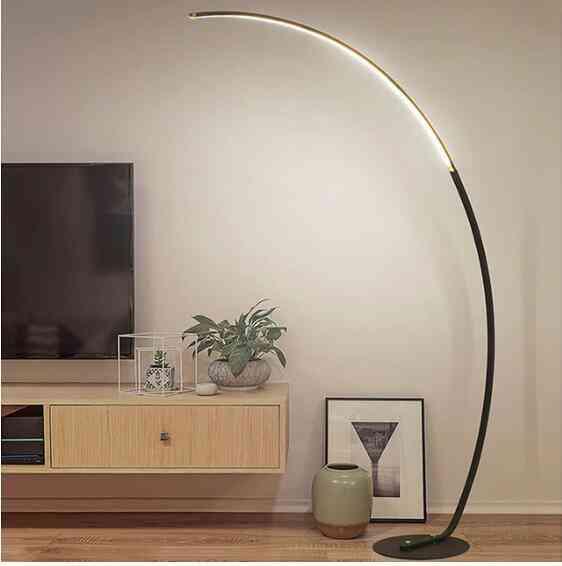 Led Modern Simple Floor Lamp, Standing Lamp, Art Decoration For Room Light.