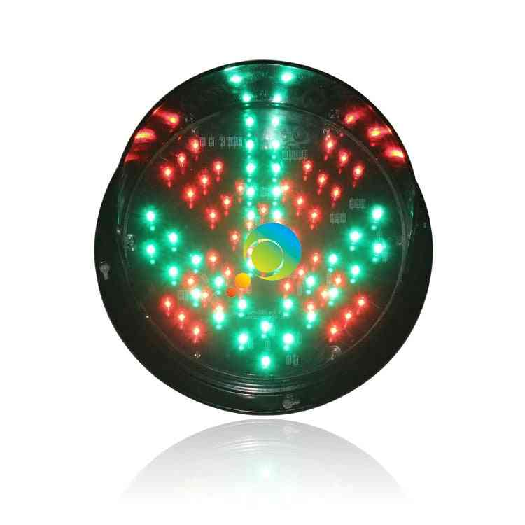 High Quality Waterproof 200mm Red Cross Green Arrow Led Traffic Light Replacement