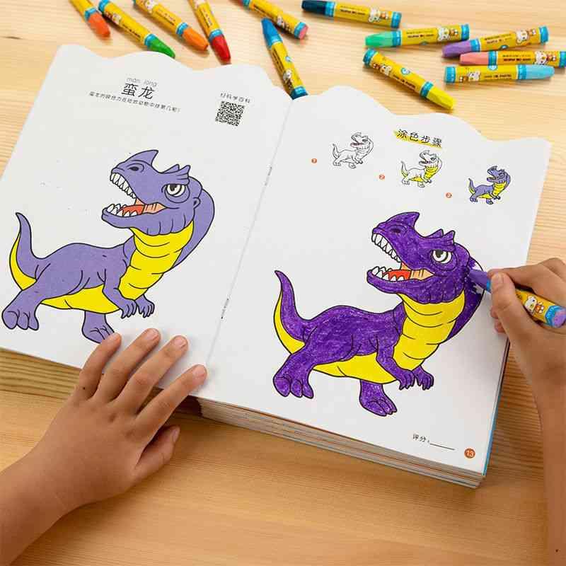 Cute Coloring Dinosaur Coloring Book