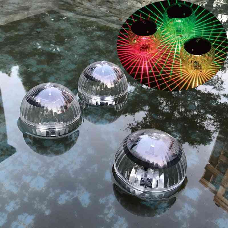 Led Disco Solar Water Drift Lamp, Floating Underwater Glow Show Lights.