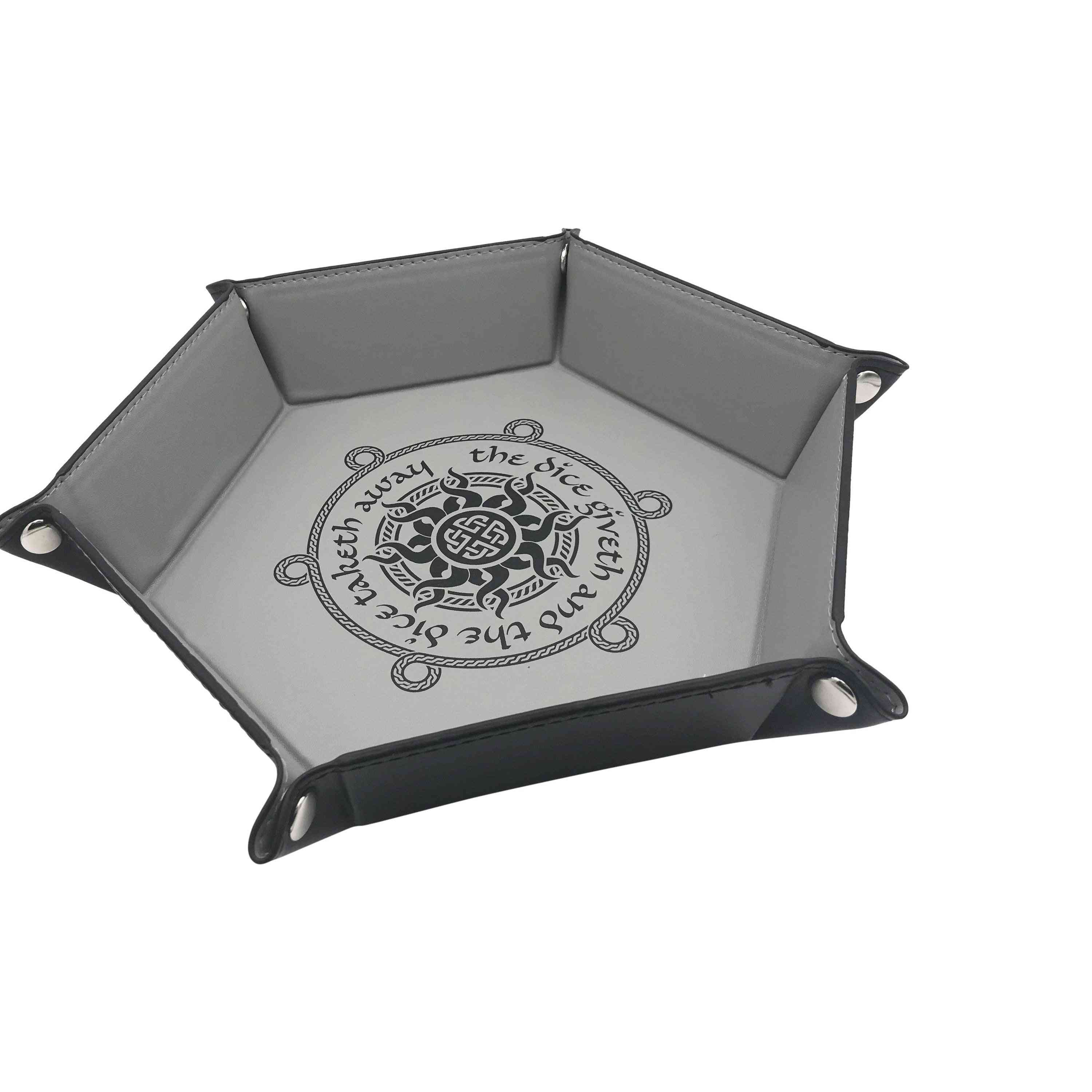 Dice Giveth Collapsible 6 Sided Dice Tray