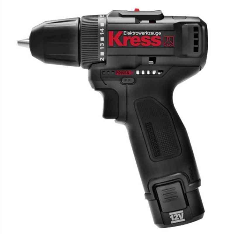 Professional Tool 12v Brushless Motor Drill