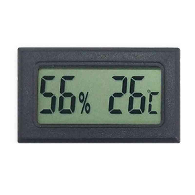 Mini Indoor Digital Temperature Sensor Cd Humidity Meter