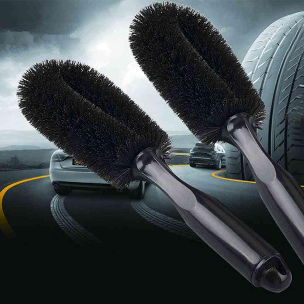 Auto Rim Scrubber Wheel Brush Cleaner Dust Remover