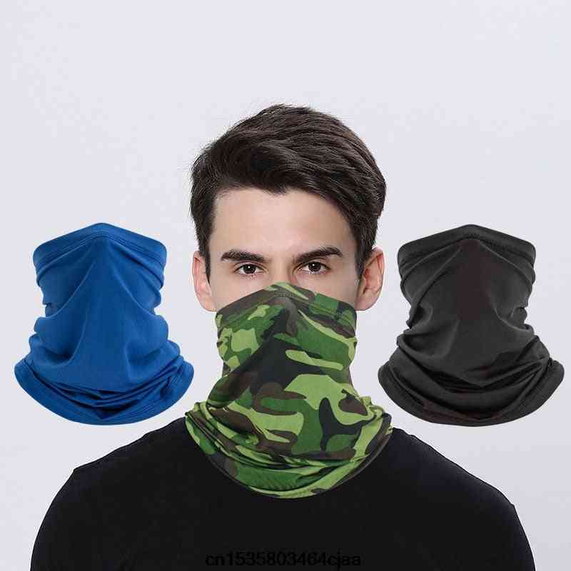 Scarf For Men's, New Fashion O-neck Slim Fit Tops Scarf
