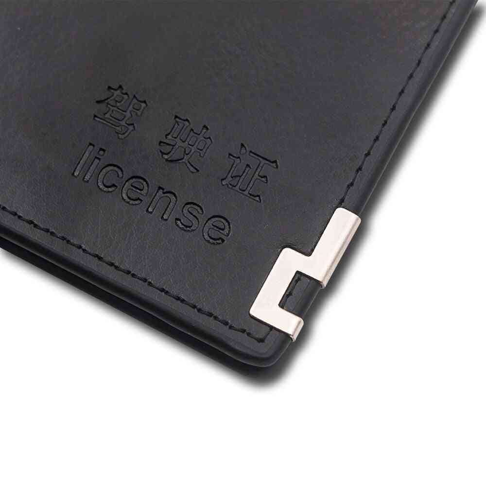 Registration Plate Holder For Driving Documents And Business Card Holder
