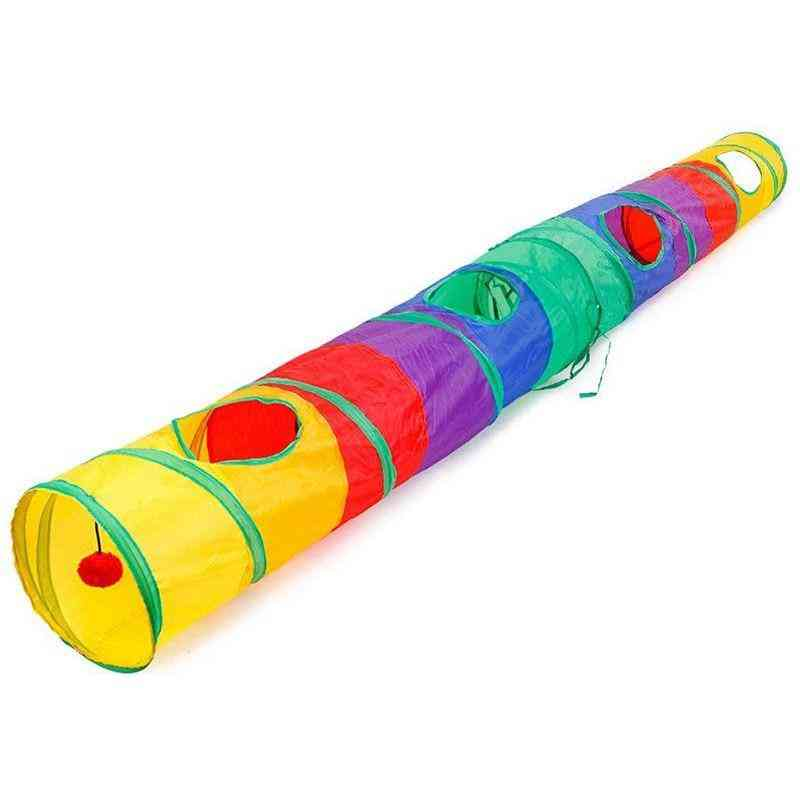 Practical Cat Tunnel Pet Tube Collapsible Play Toy Puppy