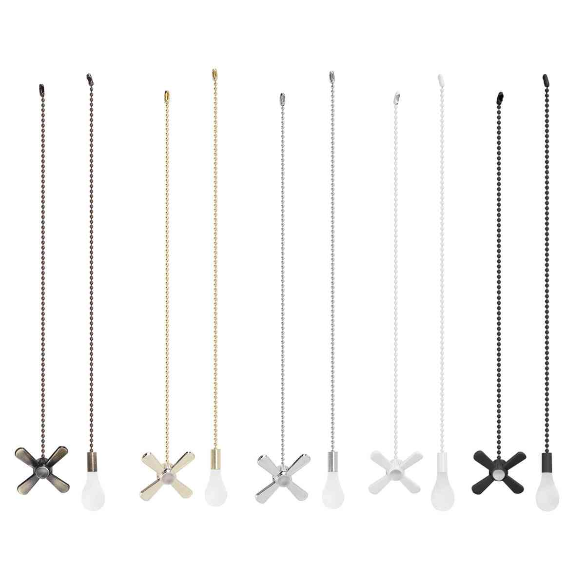 Ceiling Fan Pull Chain Pendant Set Pull With Ball Connector Included Light Bulb Shaped/fan Shaped
