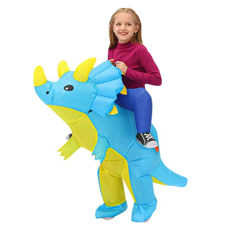 Kids Purim Party Cosplay Costumes Toy, Animal Child Suit, Inflatable Dinosaur Costume,,