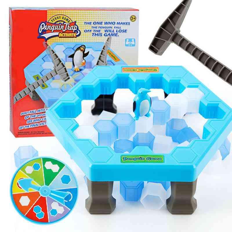 Penguin Trap, Icebreaker Board Game, Adult, Kids, Table Family